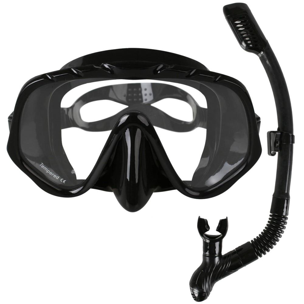 Copozz-نظارات غوص سكوبا الاحترافية ، معدات الرياضات المائية مع عدسات مضادة للضباب من قطعة واحدة تحت الماء