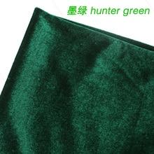 Avcısı Yeşil Ipek Kadife Kumaş Kadife Kumaş Pleuche Kumaş Masa Örtüsü Masa Örtüsü perde kumaşı Satılan BTY