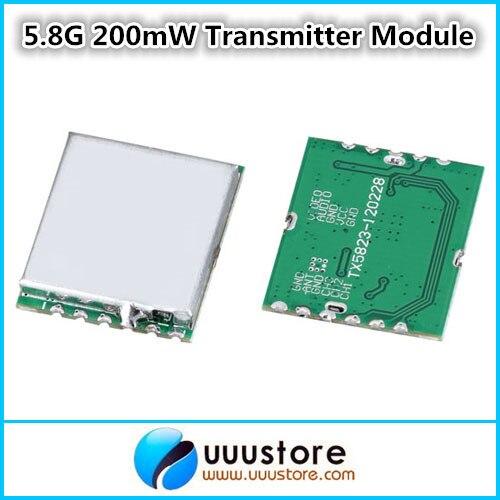 Boscam FPV 5,8 Ghz 200 mW inalámbrica Audio Video transmisor módulo TX5823