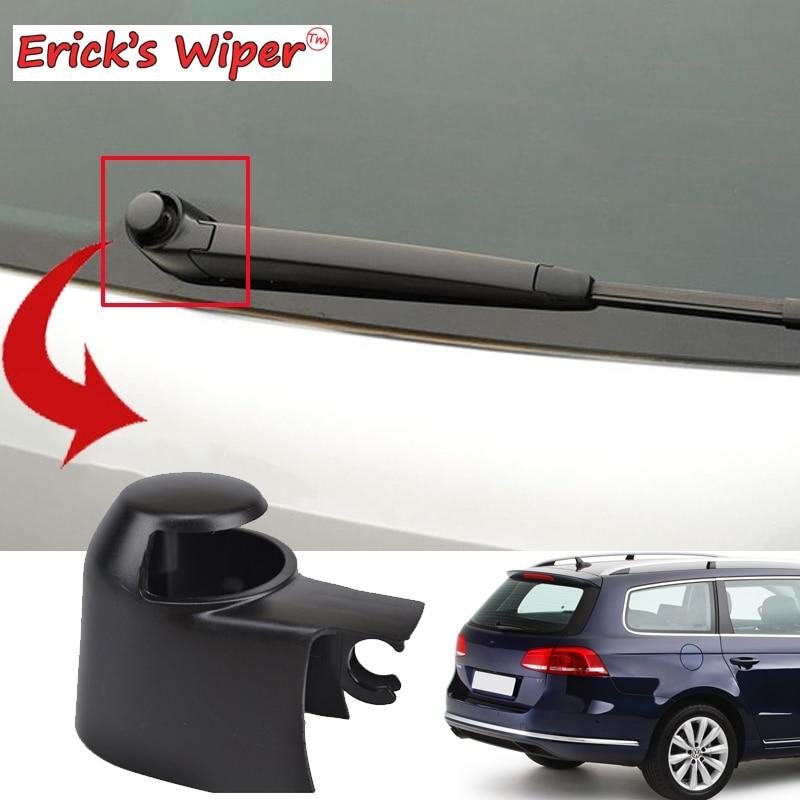 Erick es Limpiaparabrisas parabrisas escobilla trasera arandela cubierta tuerca ciega para VW Passat B6 B7 2005-2015, 2014, 2013, 2012, 2011, 2010