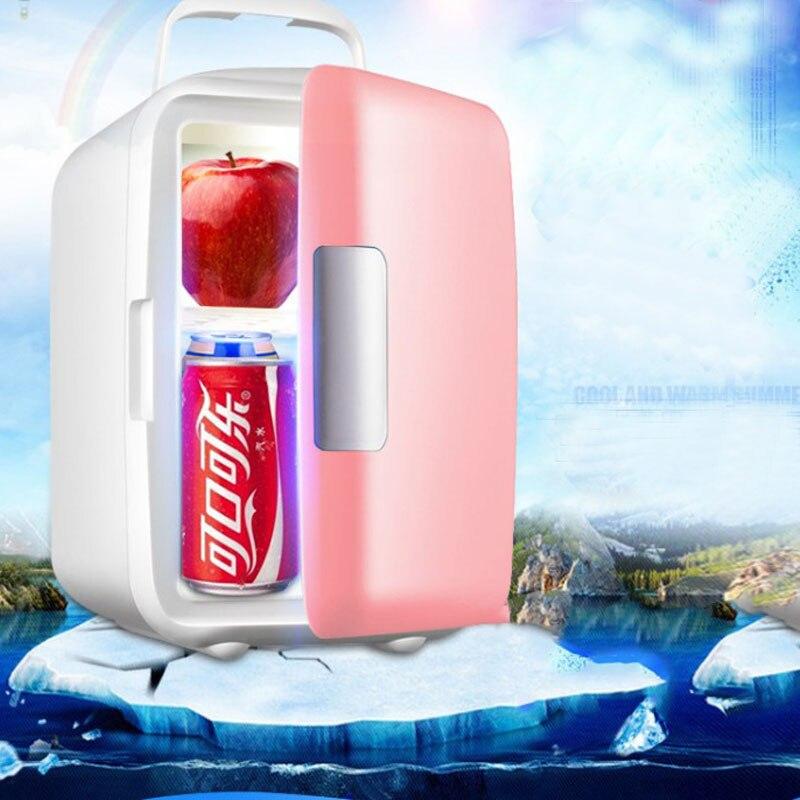 أربعة لتر ثلاجة صغيرة الثلاجة portola السيارات الفريزر السيارات الثلاجة برودة الدافئة العالمي قطع غيار السيارات