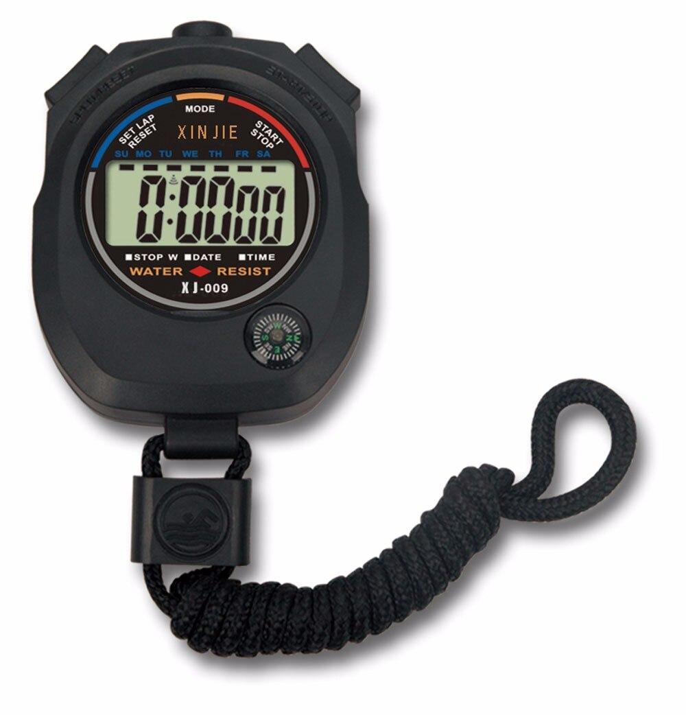 Reloj LED Casual deportivo para hombre, resistente al agua, cronómetro Digital LCD, cronógrafo, contador de pasos, alarma deportiva, reloj Masculino
