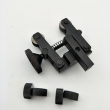 Support doutil de moletage Durable, outils knulls linéaires, tige réglable + 2 roues pour Mini tour, roulement de broche