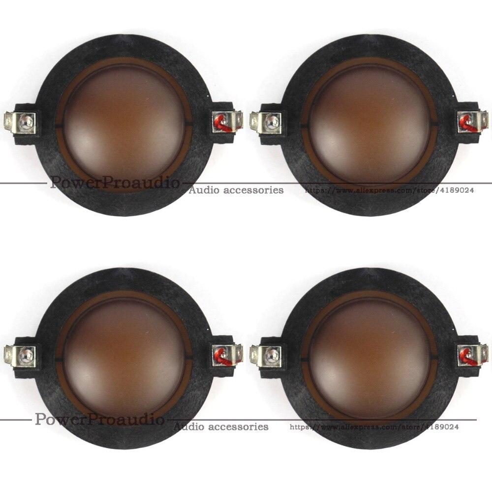 4 قطعة/الوحدة النيوديميوم رئيس الحجاب الحاجز DE400 استبدال مكبر 44 مللي متر ملف صوتي ل المهنية الصوت