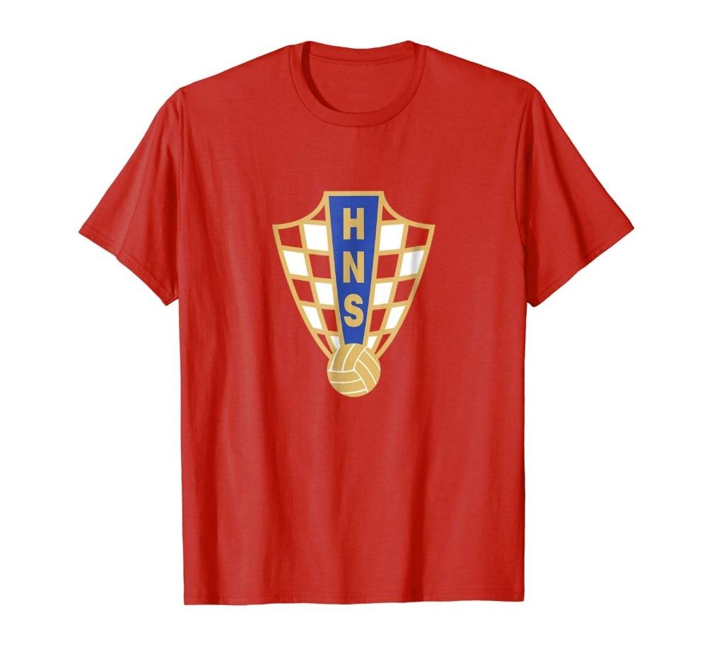 Hrvatska Croatian nacional de los hombres futbolista leyenda Soccers camiseta Jersey más nuevo 2019 estampado de moda de los hombres camiseta hombres