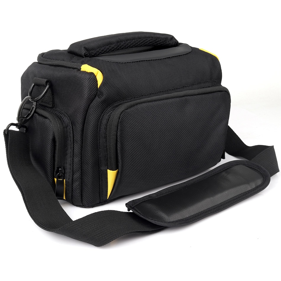 Bolso impermeable de la cámara del hombro funda de la foto para Panasonic Lumix FZ2500 FZ2000 FZ300 FZ85 FZ80 FZ70 G7 GH5L cubierta de la cámara Digital