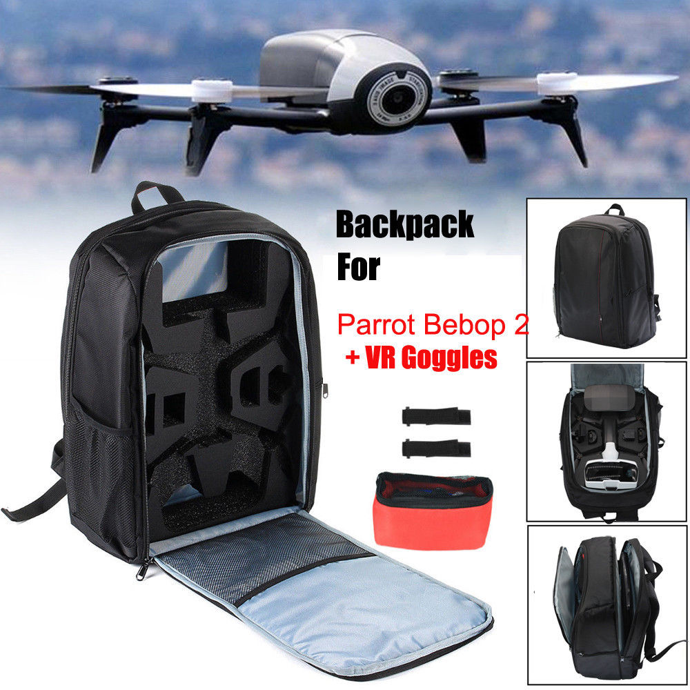 Mochila De NUEVO Bolso 2018 Estuche de transporte de hombro portátil para Parrot Bebop 2 Power FPV Drone