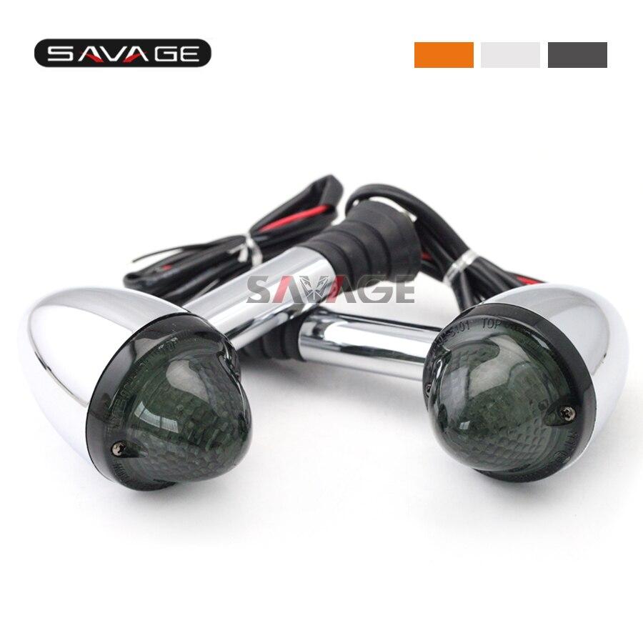 Para Triumph Boneville/ T100 2002-2012, Boneville SE 2009-2013, luz intermitente de luz delantera/trasera de indicador LED de señal de giro