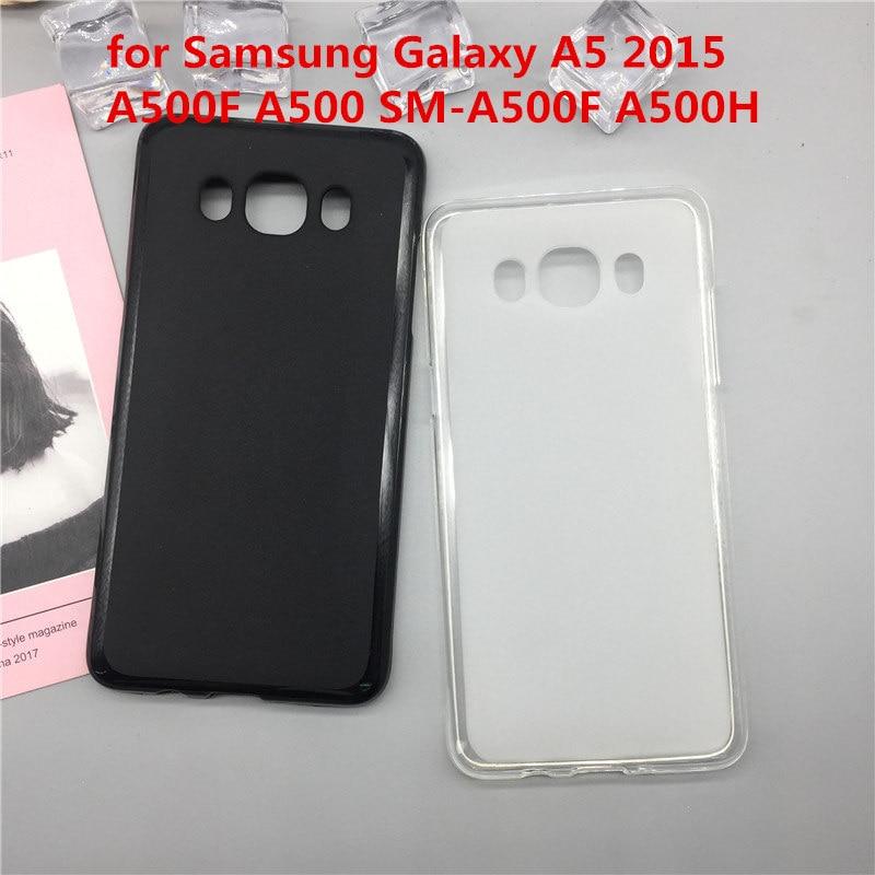 Funda de silicona blanda Para teléfono Samsung Galaxy A5 2015, A500F, A500,...