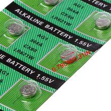 10 PIÈCES Montre Batterie AG1 1.55V 364 SR621SW LR621 621 LR60 CX60 Alcaline Bouton Piles bouton