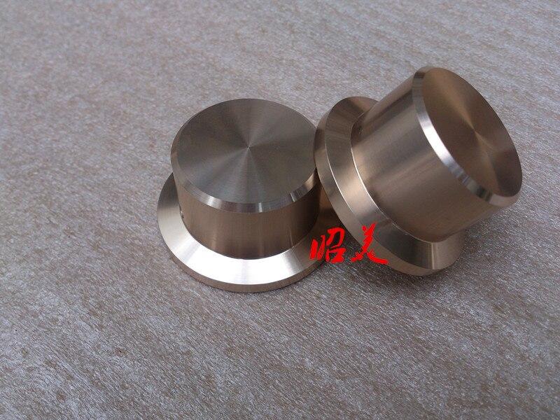 Diameter 48mm handle diameter 36mm high 26mm aluminum solid volume knob audio amplifier potentiometer knob
