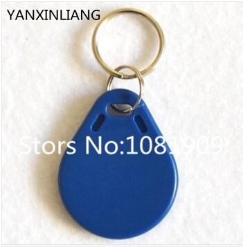 100pcs/lot 13.56MHz RFID IC Key Tags Keyfobs Token NFC TAG Keychain For Arduino