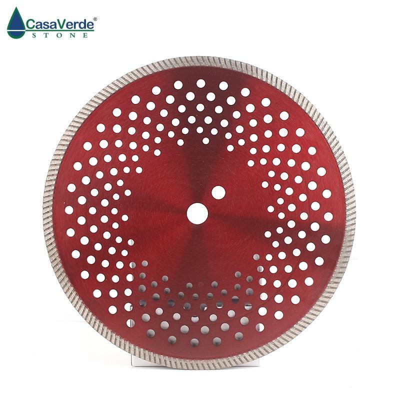 Cuchilla de corte de concreto diamante premium sinterizada en caliente de 12 pulgadas y 300mm con altura de segmento de 10mm para cortar hormigón, piedra y azulejos