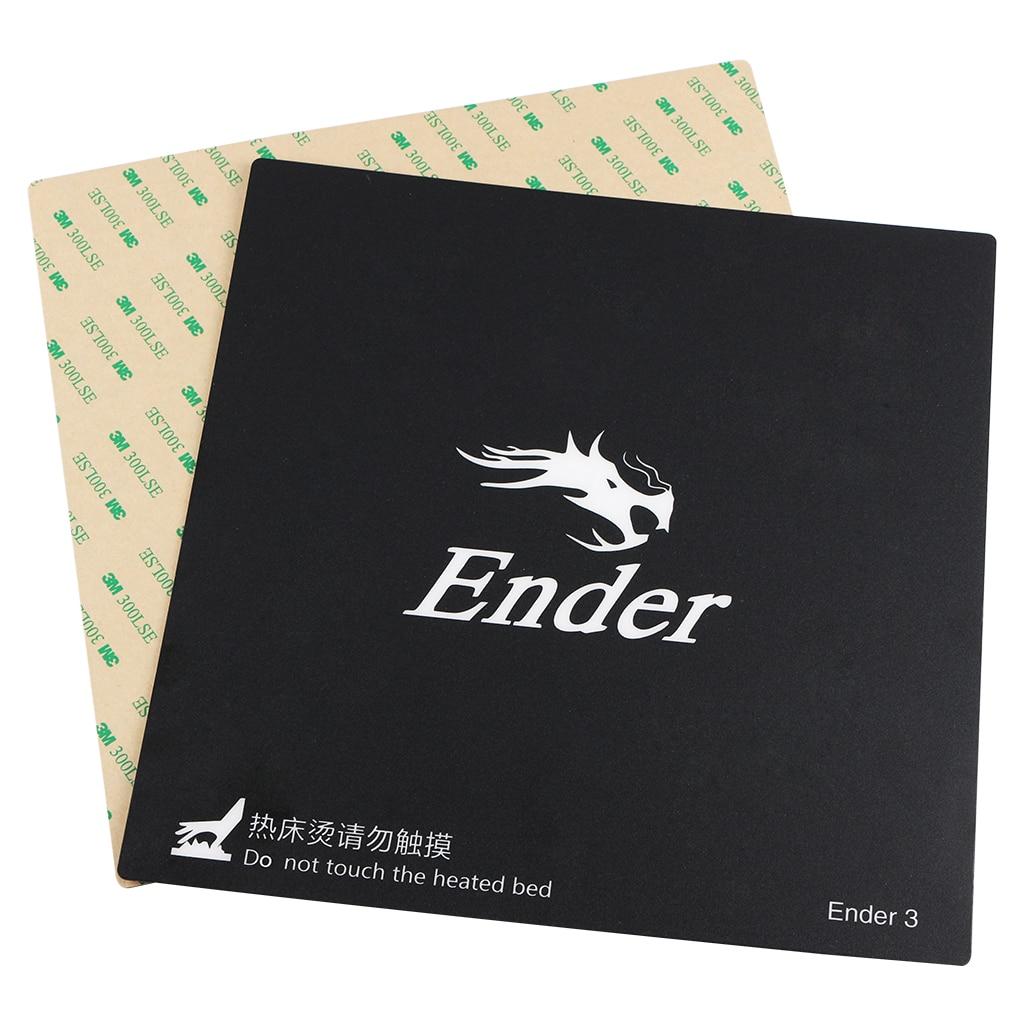 Creality 3D Drucker Bauen Oberfläche Wärme Bett Plattform Aufkleber Sheet235x235mm für Ender-3/Ender-3 PRO 3d Drucker
