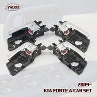 4PCS A CAR SET INTERIOR DOOR HANDLE FOR KIA FORTE OEM:82661-1X020 82651-1X020