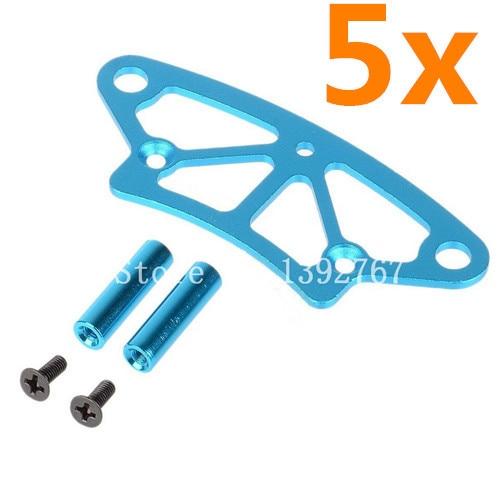 Venta al por mayor de 5 paquetes/lote HSP 122058 aleación de aluminio partes de repuesto de actualización frontal para RC 1/10 x 4WD nitro coche XSTR potencia 94122