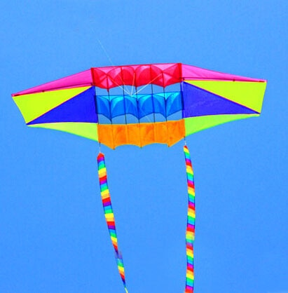 Free shipping high quality large radar kite tails flying toys nylon ripstop fabric 3d kite flying dragon kite factory wholesale недорого