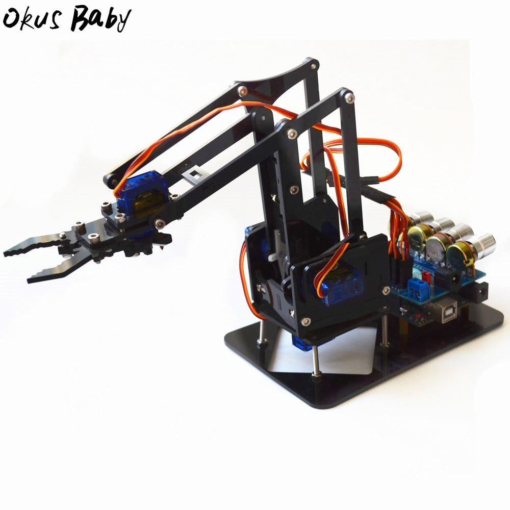 2021 новый акриловый самодельный робот-�