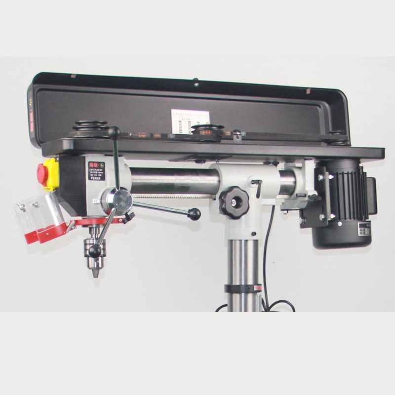 Bench drill small electric drill multi-function woodworking perforated hole power tool desktop drilling machine 220V750W enlarge