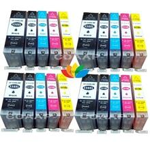 20 compatibles Canon CLI 551 IGP 550 Cartouches dencre pour Pixma iP7250 iX6850 MG5550 MG5650 MG6450 MG6650 MX725 MX925