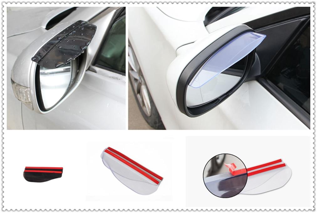 Espejo retrovisor para coche lluvia ceja/visera de lluvia para Kia Soul forte5 Cadenza telurude Pro Venga