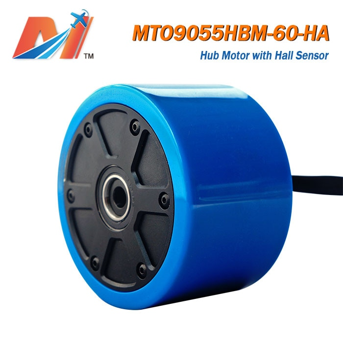 Maytech-motor de buje sin escobillas para patinete eléctrico, 60kv, 90mm, tamaño 36v,...