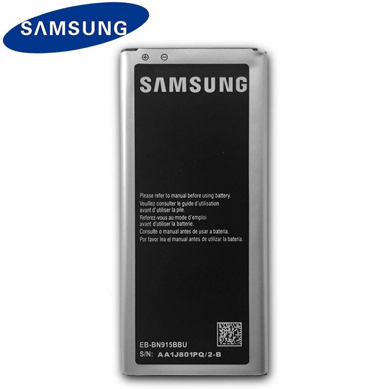 Original de la batería de Samsung para Galaxy nota borde N915 N915F N915A N915T N915V N915G EB-BN915BBE EB-BN915BBU 3000mAh con NFC