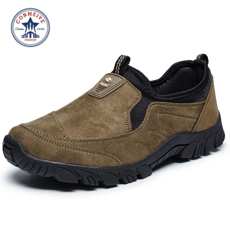 OFERTA ESPECIAL zapatos de senderismo al aire libre hombres trekking camping zapatillas sapatilhas scarpe uomo sporttive senderismo medium (b, m) franela