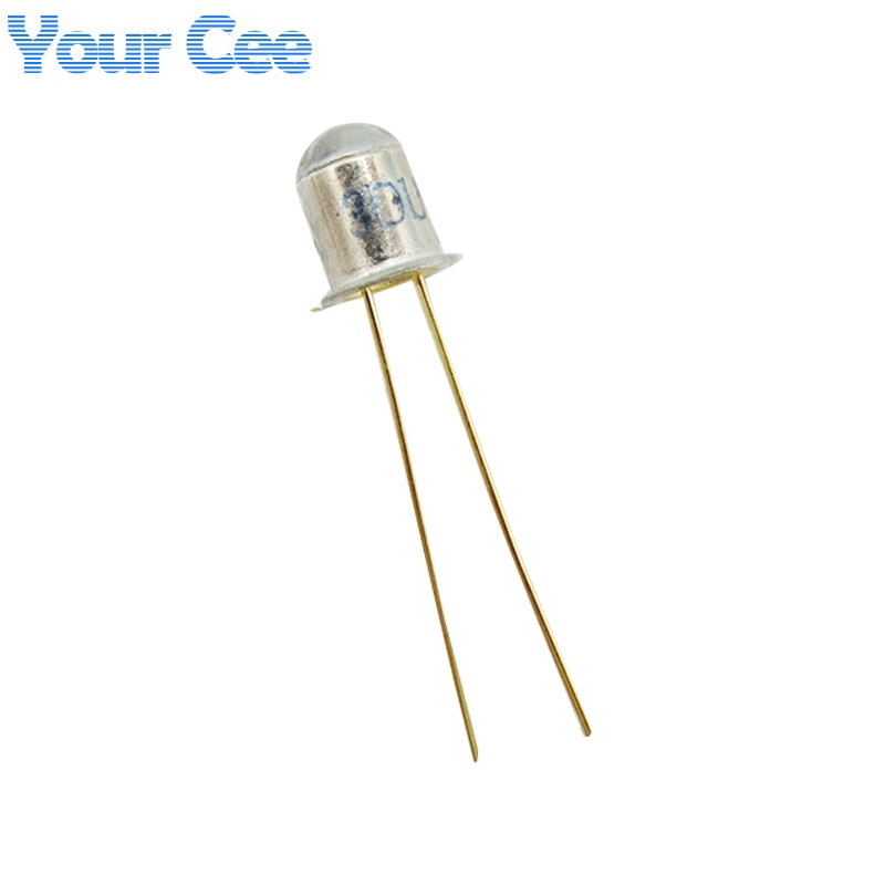 10 pcs 3DU5C Silicon Phototransistor Transistor   2-feet Metal Package