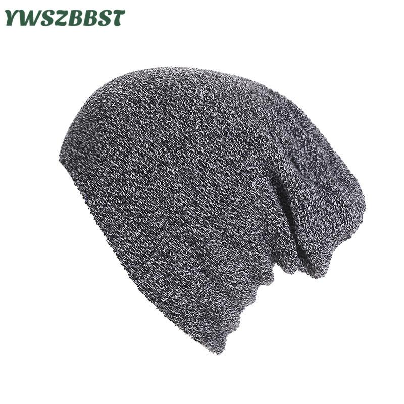 Высококачественная уличная зимняя женская шапка унисекс, мужская вязаная шапка в полоску, осенняя вязаная теплая шапка, Женская шерстяная ...