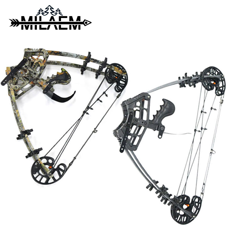 1pc 40lbs Archery Black Camo Compound With Bow Steel Ball IBO350FPS Right Hand Compound Bow Outdoor Shooting Hunting Accessories