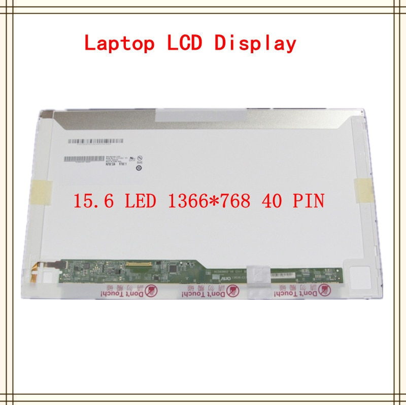 15,6 pulgadas 1366x768 40pin pantalla LCD de ordenador portátil para Toshiba Satellite Pro C660 C660D L500 L500D C650 C650D serie