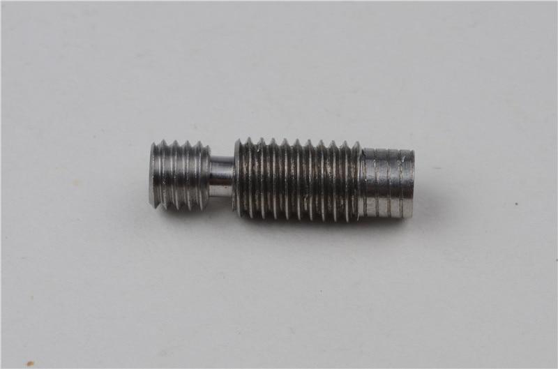 Barril de rotura de calor de aleación de titanio de actualización 2 uds, súper lisas TC4, barril térmico para V6 Jhead Bowden Hotend