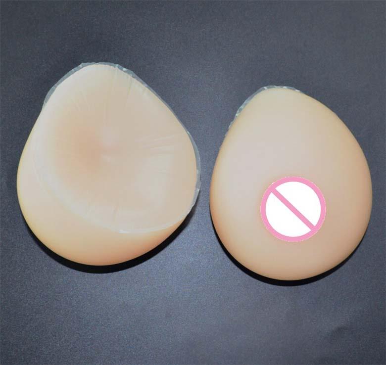 Molde de silicona de 500g implantes de senos artificiales para sujetador de mastectomía trajes de Drag Queen formas de senos falsos realistas