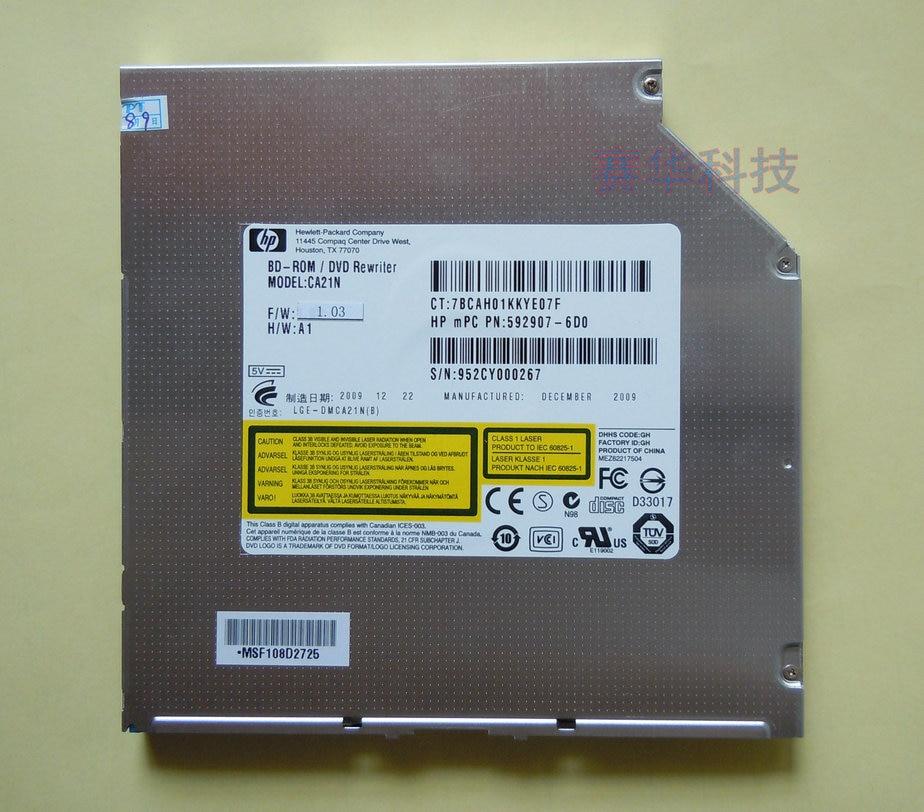 Envío Gratis nuevo HL CA21N 6X reproductor de Blu-ray BD-ROM Combo ranura SATA Slim DVD interno RW quemador