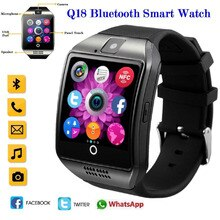 2020 Q18s Bluetooth Smart Watch Support 2G GSM SIM Card Audio Camera Fitness Tracker Smartwatch for
