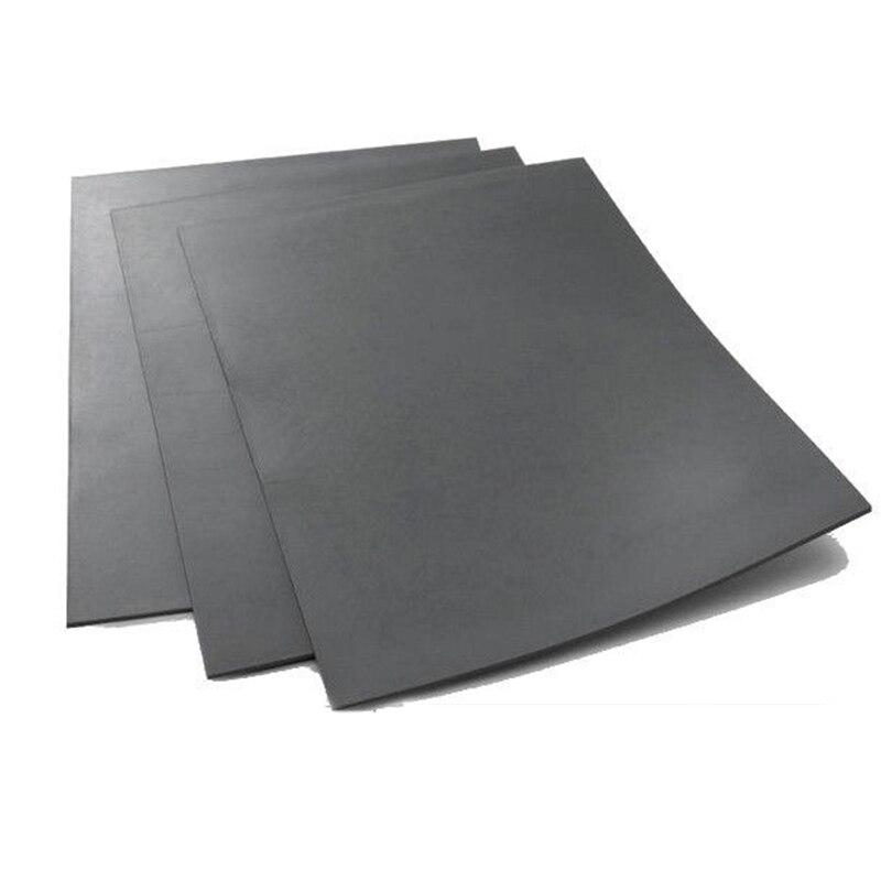 Серый лазерный резиновый лист, 1 шт., точный Гладкий гравировальный упаковщик, штамп A4, размер 2,3 мм