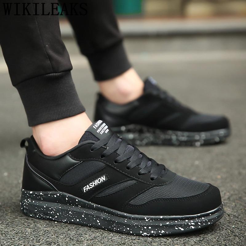 Zapatillas transpirables para Hombre, zapatillas informales a la moda para Hombre, zapatillas De verano para Hombre 2020, Zapatos De Hombre Erkek Ayakkabi