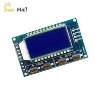 signal generator pwm board module pulse frequency duty cycle adjustable module lcd display 1hz 150khz 3 3v 30v pwm board module