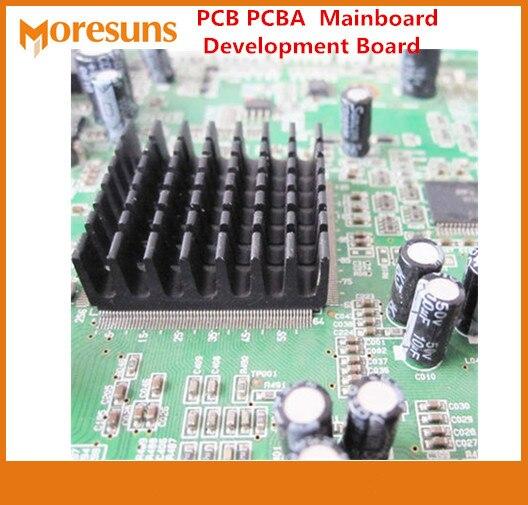 SMT DIP 1-6 proceso de fabricación de placa de circuito PCB de capa pcba + compra de lista de BOM para placa de minería BTC LTC ETH sistema no tripulado PCB