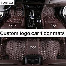 Custom LOGO car floor mats for Dodge all models Dodge Journey 2009-2017 Challenger dodge ram 1500 auto accessories car mats