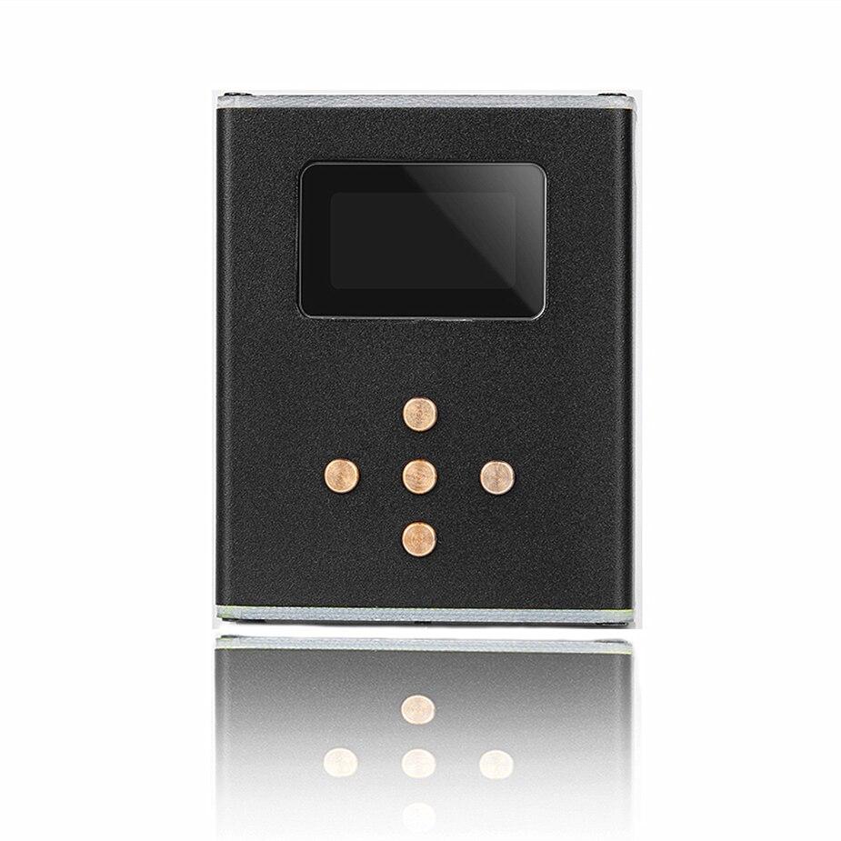 Reproductor de música Wooeasy DIY, MP3 Zishan Z3, sin pérdidas, HiFi, compatible con auriculares, amplificador DAC AK4490 Z2, versión actualizada con OLED