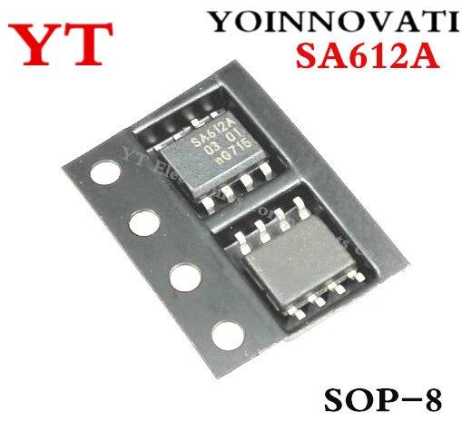 Бесплатная доставка 10 шт./лот SA612A SA612 соп-8 лучшее качество