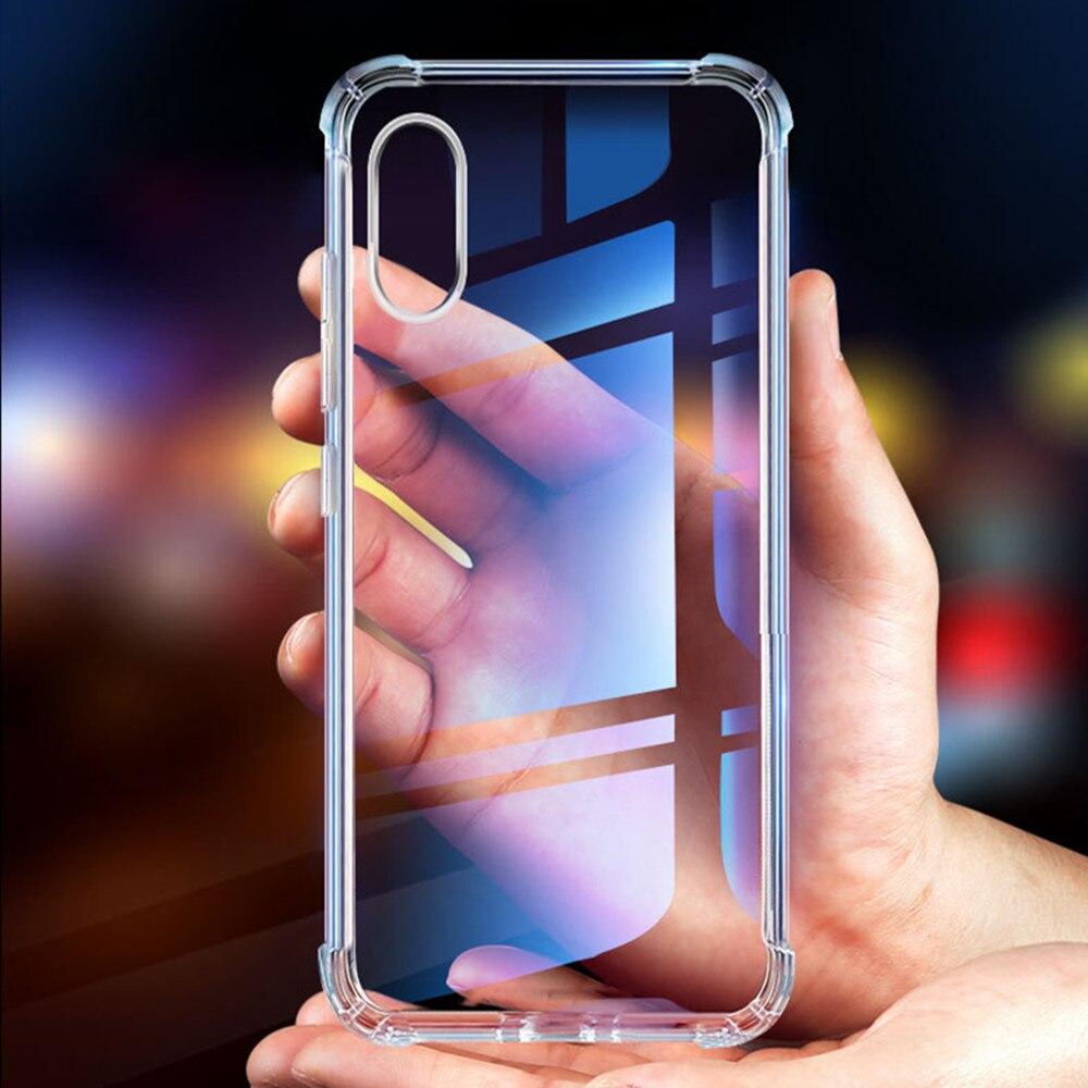 Stoßfest Fall für Samsung Galaxy A50 A30 Klar Weichen TPU Rückseitigen Abdeckung Für Samsung Galaxy M10 M20 M30 A10 A20 a40 A70 Fundas