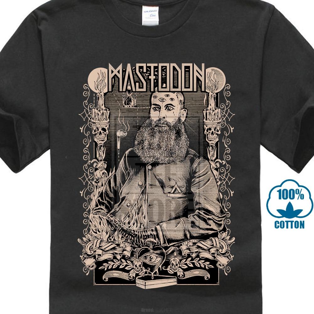 New Popular Mastodon Hard Metal Rock Band Goth Men S Black T Shirt S 3Xl