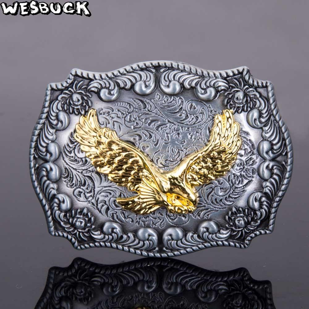 Westbuck marca nova western cowboy águia floral flor cinto fivela estilo nativo dos homens das mulheres cinto acessórios de luxo hebilla