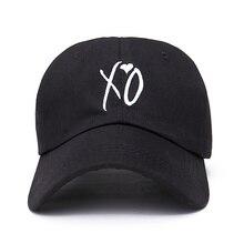 Di modo regolabile XO cappello il Weeknd cappelli di Snapback per le donne degli uomini di marca hip hop papà Cappellini sole strada di skateboard casquette cap
