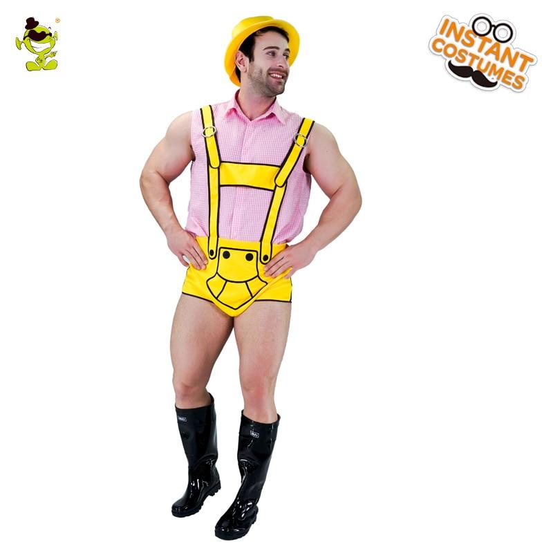 Funnny Mens cômico de Cerveja da Cerveja de Oktoberfest Traje para a Festa de Carnaval Adulto Terno Halloween Natal Fanacy Vestido