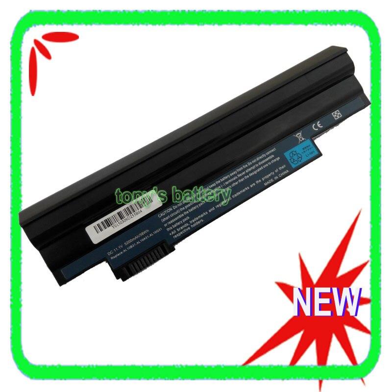 6 celdas de batería para Acer Aspire 522 722 D255 AOD255 AOD260...