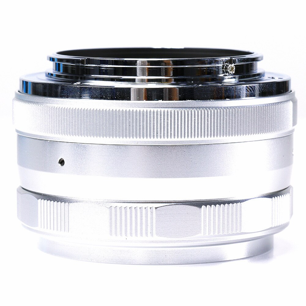 Ручная линза Sony NEX3N NEX5T NEX6 NEX7, Большая диафрагма 35 F1.7, ручная линза для Sony NEX3N NEX5T, NEX6, NEX7, NEX-F3, a3000, a5000, a5100, a6000, серебристая камера